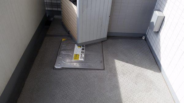 横浜市神奈川区ベランダバルコニークリーニング