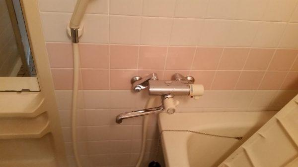 品川区浴室クリーニングサビ取り
