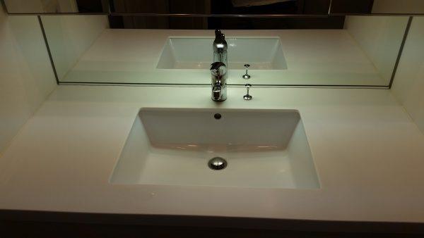 江東区キッチン換気扇と洗面所クリーニング