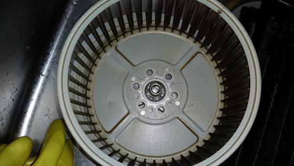 品川区換気扇クリーニング&電子レンジ