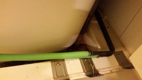 武蔵野市浴室クリーニングエプロン内部洗浄
