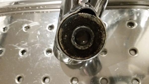 中央区 ハウスクリーニング シンク水垢取り