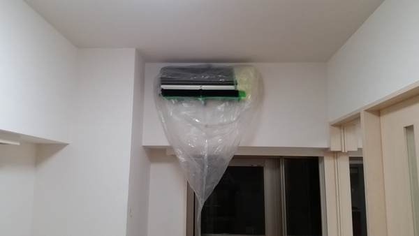 品川区空室清掃&エアコンクリーニング