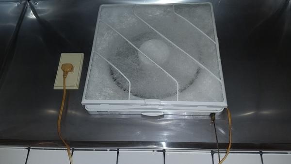横浜市港北区キッチン換気扇クリーニング