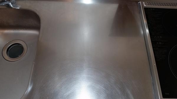 高座郡キッチンクリーニングシンク磨き